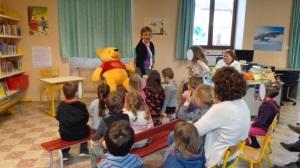 A la bibliothèque municipale de Mogneneins Peyzieux, les enfants se sont régalé !