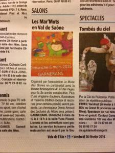 Pub Voix de l'Ain page 1
