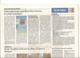 Voix de l'Ain 17 juillet 2015 MP Emorine