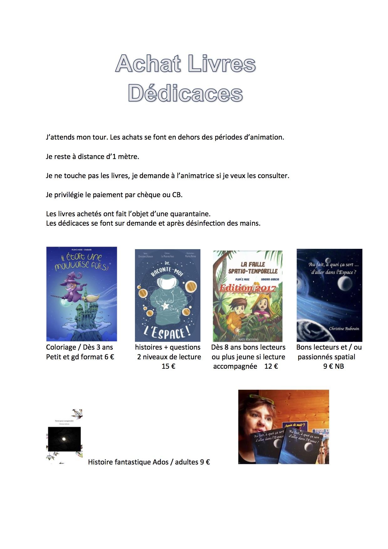 Animations de la Muse des Gones_ConsignesDédicacces